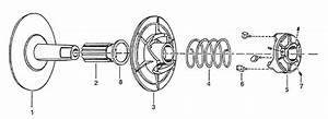 340 Series Driven Clutch Replacement Parts For Go Karts