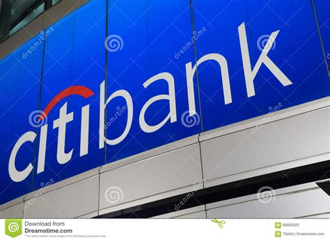 citibank editorial image image  credit company