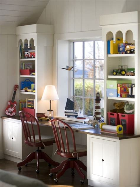 desk for boys room 16 cool ideas to organize a work area in the kids room