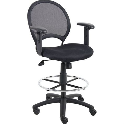 Drafting Chair With Arms by Mesh Drafting Chair With Adjustable Arms B16216