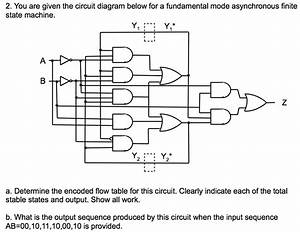 Solved  You Are Given The Circuit Diagram Below For A Fund