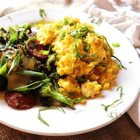 scramble cuisine grown up scrambled eggs cuisine