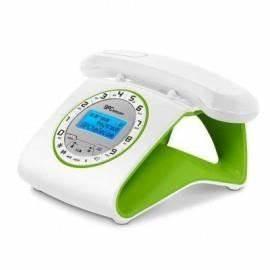 Telephone Sans Fil Vintage : t l phone sans fil r tro dect blanc vert achat vente ~ Teatrodelosmanantiales.com Idées de Décoration