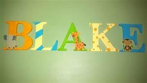 nursery letters nurseries and safari on pinterest With safari letters for nursery