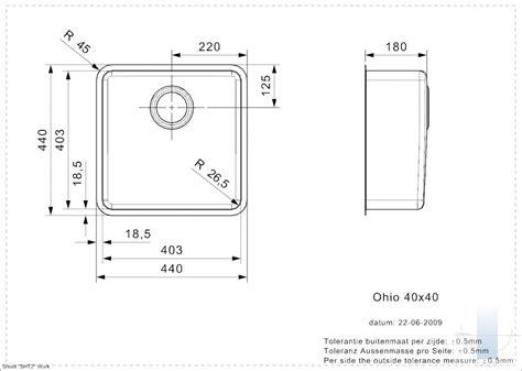 Ohio U 40/40 integrētā virtuves izlietne | Vannupasaule.lv