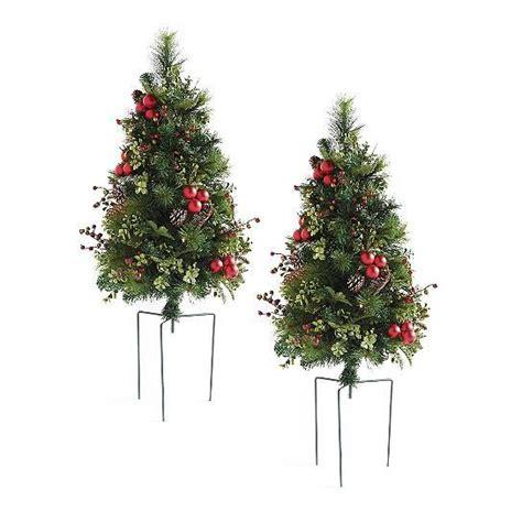 christmas merry berry outdoor pre lit cordless wreath garland urn filler trees ebay