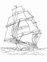 Sailboat Coloring Ausmalbilder Segelboot Printable Malvorlagen Ausdrucken Kostenlos Zum sketch template