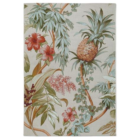 tommy bahama pineapple l tommy bahama island pineapple outdoor area rug frontgate