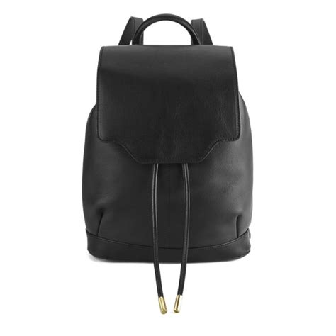 rag & bone Women's Pilot Backpack   Black   Free UK Delivery over £50