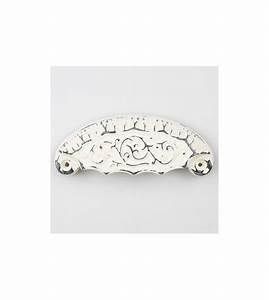 Poignée De Meuble Vintage : poign e de meuble empire blanche demi lune style maison ~ Dailycaller-alerts.com Idées de Décoration
