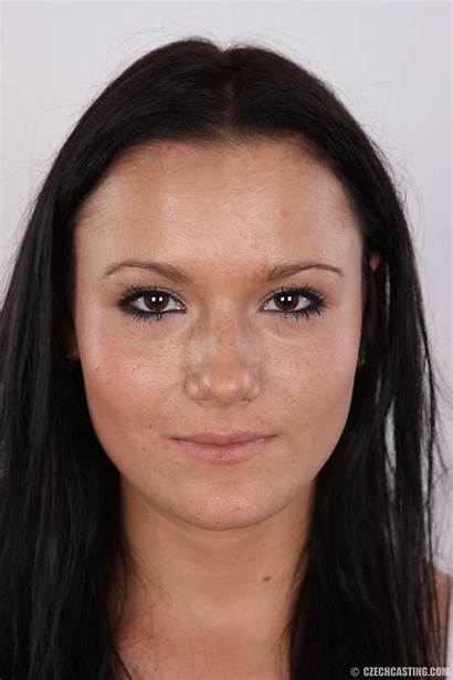 Casting Czechcasting Czech Brunette Tits Alena Headshots