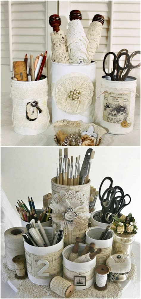 diy repurposing ideas  empty coffee containers style motivation
