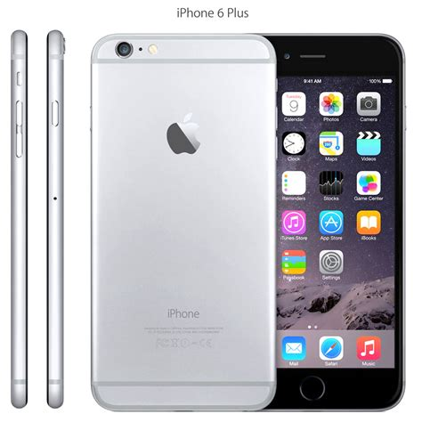 silver iphone 6 apple iphone 6 plus 128gb silver factory unlocked phone