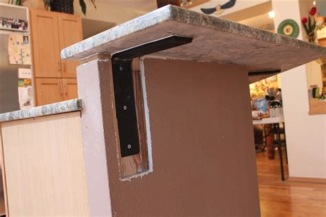 countertop support bracket for granite quartz
