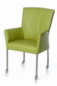 Stuhl Auf Rollen : moderner stuhl auf rollen in verschiedenen farben kaufen bei richhomeshop ~ Eleganceandgraceweddings.com Haus und Dekorationen