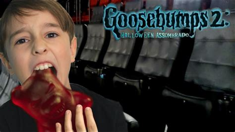 Indo Assistir Goosebumps 2 O Filme No Cinema E Passeio Na