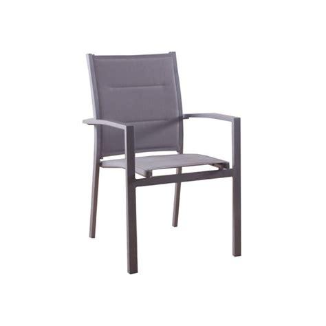 fauteuil de jardin texaline azua gris rembourré achat vente fauteuil jardin fauteuil de