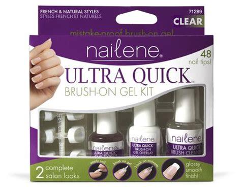 Nailene Ultra Quick Brush On Gel Kit Walmart Canada