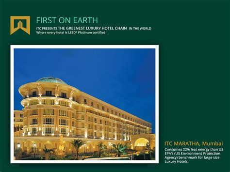 four cuisine itc hotels the greenest luxury hotel chain in the