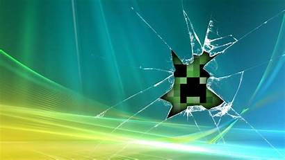 Minecraft Wallpapers Mobs Screen Creeper Windows Minecarft