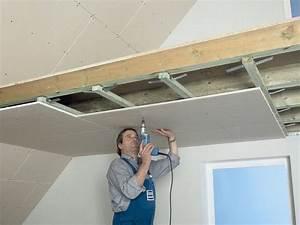 Abgehängte Decke Brandschutz : knauf trockener innenausbau raumh hen absenken ~ Frokenaadalensverden.com Haus und Dekorationen