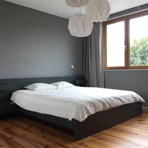 chambre ton gris relooking déco une chambre dans les tons neutres
