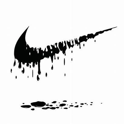 Nike Svg Dripping Logos Cricut Signs Cut