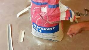 Bandes De Platre Bricolage : bricolage pose de bande joints sur plaques de pl tre tape 1 5 youtube ~ Dallasstarsshop.com Idées de Décoration