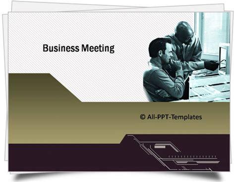 15166 business meeting presentation powerpoint business meeting template