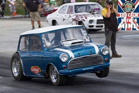 Mini Drag Car by 34 Best Mini Images On Mini Coopers Classic