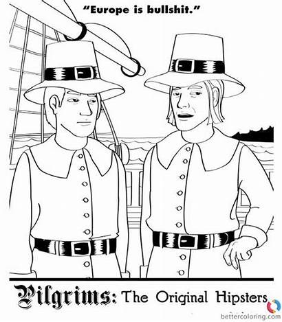 Hipster Coloring Pages Hipsters Printable Adults