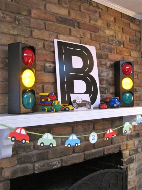 cool traffic lights decor from toys r us party toy car