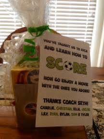 Soccer Coach Gift Ideas Pinterest