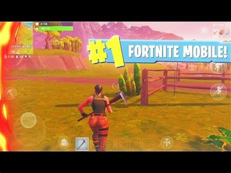 fortnite mobile gameplay fortnite mobile early