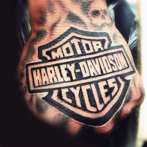 harley davidson tattoos  men manly motorcycle designs