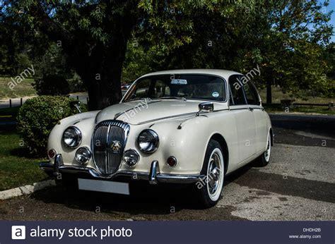 jaguar daimler images jaguar daimler v8 a luxury classic car stock photo