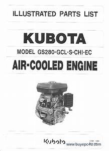 Kubota Engines Parts  U0026 Workshop Manuals Pdf