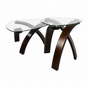 51 off raymour and flanigan raymour flanigan allure for Allure coffee table