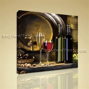 hd print abstract painting wall art on canvas wine food With wine wall art