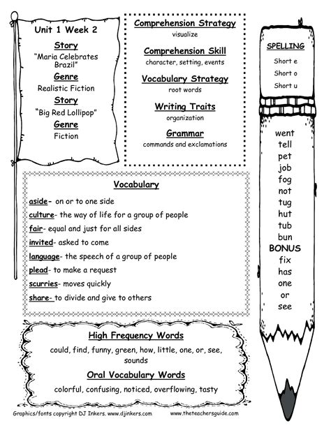 Teacher Worksheets For 2nd Grade Worksheets For All  Download And Share Worksheets  Free On