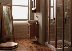 Wood in your bathroom why not for Bathroom in the woods