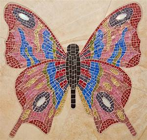 54 best Mosaic Butterflies images on Pinterest | Butterfly ...