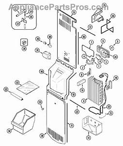 Parts For Maytag Msd2142arw  Freezer Compartment Parts