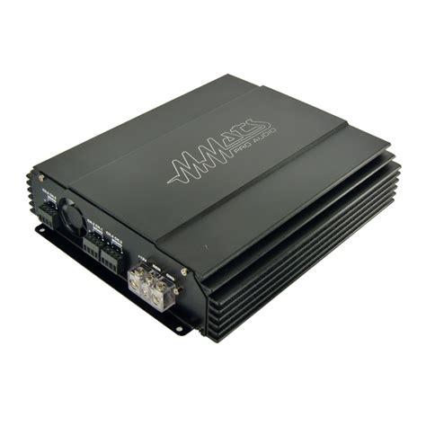 Channel Full Range Class Amplifier Mmats Hifi Car