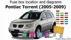 Fuse Box Location And Diagrams  Pontiac Torrent  2005-2009