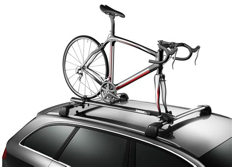 2012 Mini Cooper Thule Circuit Roof Bike Rack