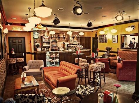 Yesterday, though, we went to central perk. friends central perk coffee shop chairs - Google Search ...