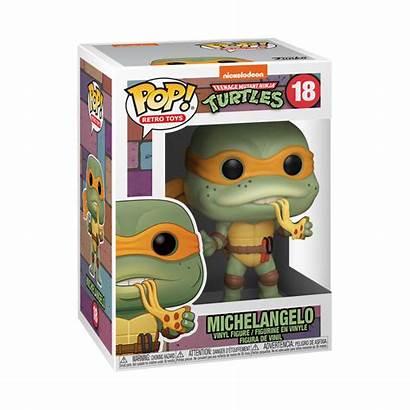 Funko Pop Toys Retro Michelangelo Ninja Turtles