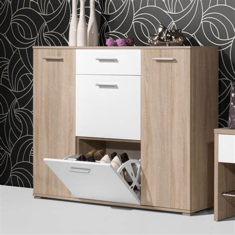 mirrored kitchen cabinets wooden shoe cabinet with mirror in beech shoe storage 4161