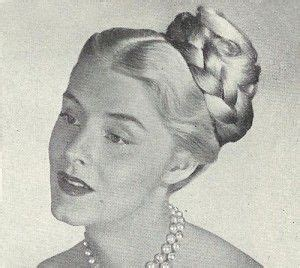 1940s Braided Hairstyles by 17 Best Images About 1940s Hair Make Up On